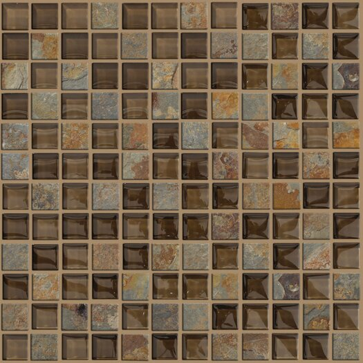 Shaw Floors Mixed Up Slate Unpolished Mosaic in Piedmont
