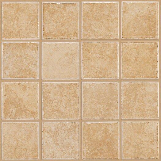 Shaw Floors Colonnade Ceramic Floor Tile in Gold