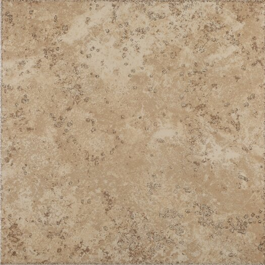 Shaw Floors Mission Bay Ceramic Floor Tile in Seaside Beige