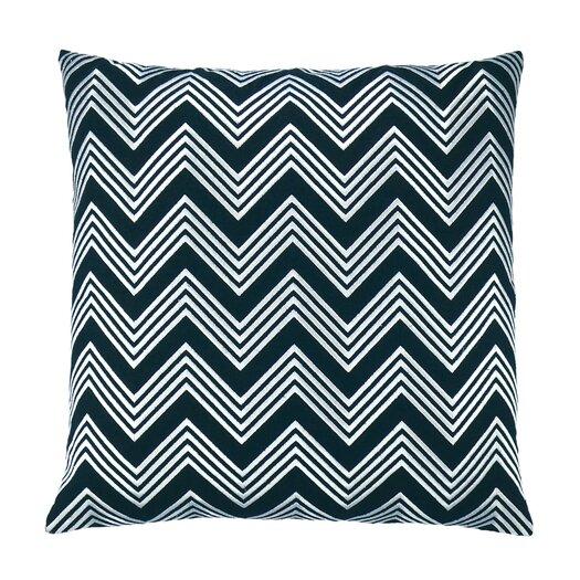 Zigzag Chevron Embroidered Throw Pillow