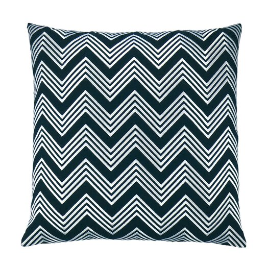 Zigzag Chevron Embroidered Throw Pillow