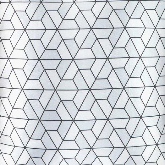NECTARmodern Triangles Modern Printed Throw Pillow
