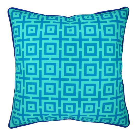 NECTARmodern And In Summation Geometric Throw Pillow