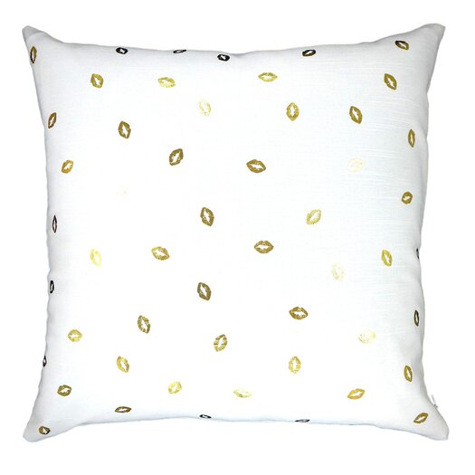 Lippity Split Throw Pillow