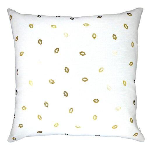 Lippity Split Throw Pillow