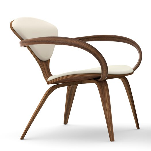 Upholstered Lounge Arm Chair