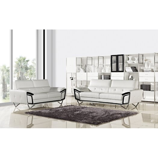 Kaya Sofa and Loveseat Set
