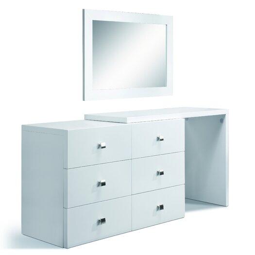 Creative Furniture Scarlet Rectangular Dresser Mirror