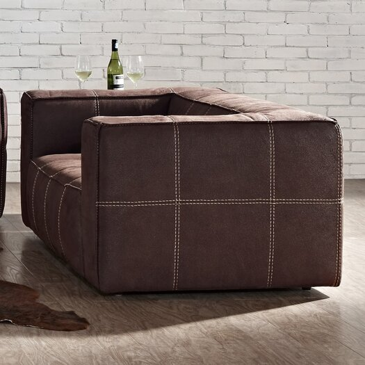 Creative Furniture Arizona Leather Loveseat