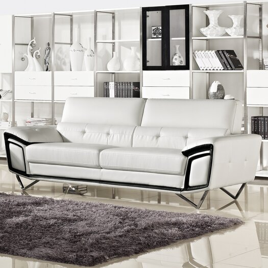 Kaya Leather Sofa
