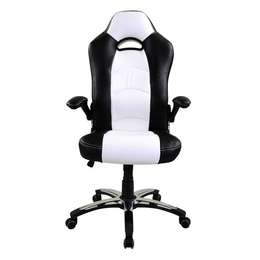 Racer High-Back Office Chair with Arm