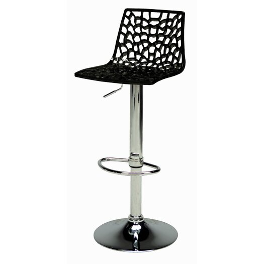 Sphere Adjustable Height Swivel Bar Stool (Set of 2)