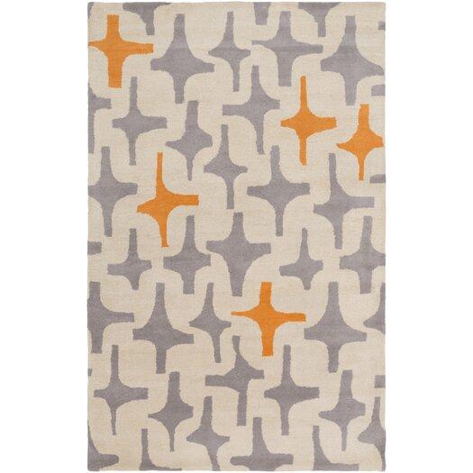 Decorativa Gray Geometric Rug