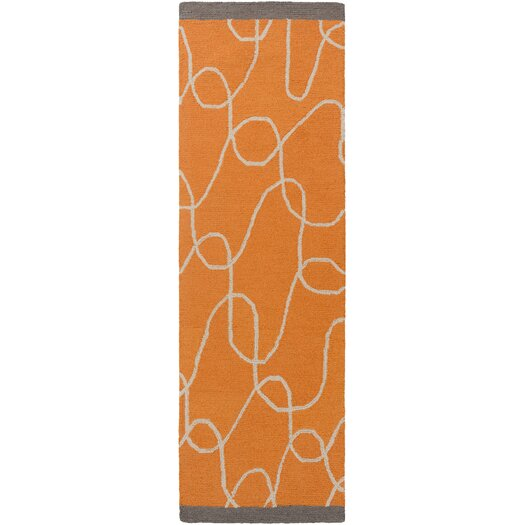 Decorativa Beige/Burnt Orange Rug