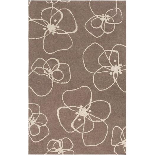Decorativa Brown Floral Rug