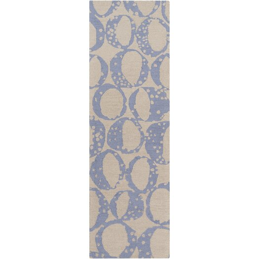 Decorativa Sky Blue/Light Gray Rug