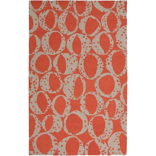 Decorativa Rust/Beige Modern Rug