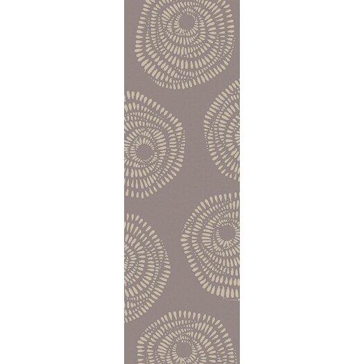 Decorativa Beige/Charcoal Floral Rug