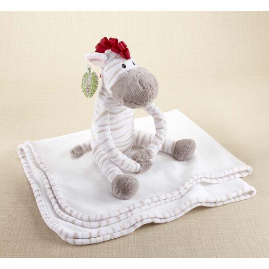 Baby Aspen ''Zoey the Zebra'' Plush Zebra with Blanket