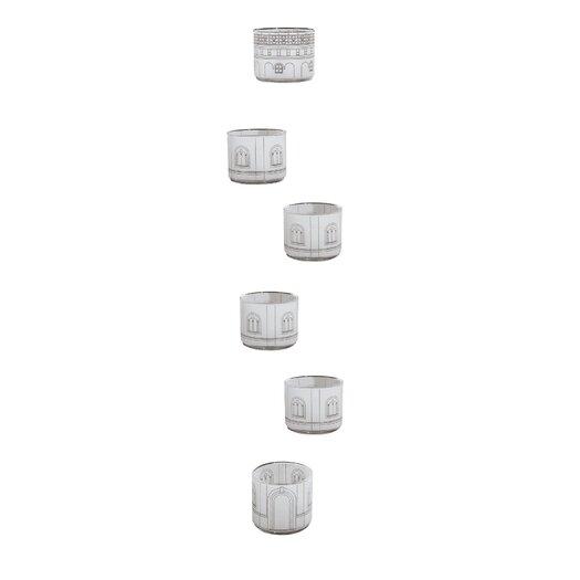Seletti Palace Torre Scura 6 Piece Glass Set