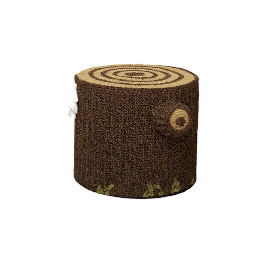 """Seletti Bosque 19.7"""" Crocheted Cotton Seating"""