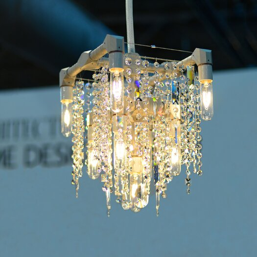 Michael McHale Designs Tribeca 9 Light Compact Chandelier