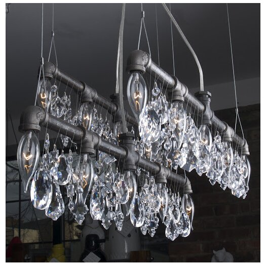 Michael McHale Designs Tribeca 5 Light Bar Chandelier