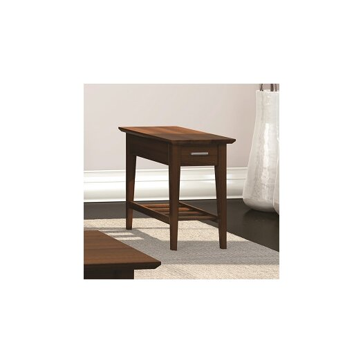 Caravel Currents Collection Chairside Table With Drawer