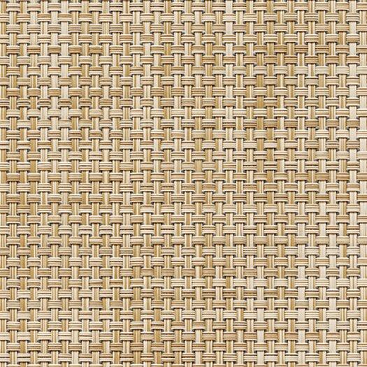 Chilewich Basketweave Caramel Floor Mat Area Rug