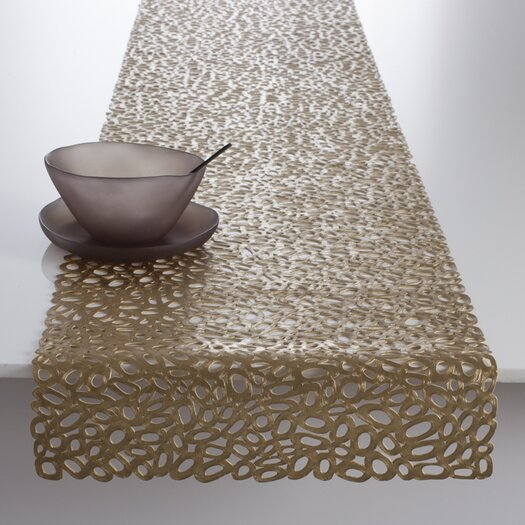 Chilewich Pebbles Pressed Table Runner