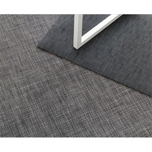 Chilewich Basketweave Bound Plynyl Floormat Area Rug