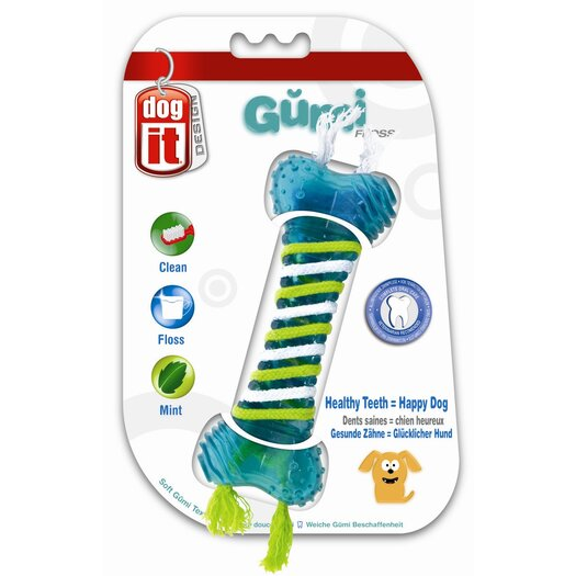 Dogit by Hagen Dogit Design GUMI Dental Dog Toy - Floss