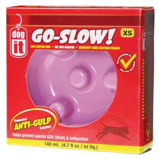 Dogit by Hagen Dogit Go Slow Anti-Gulping Dog Bowl