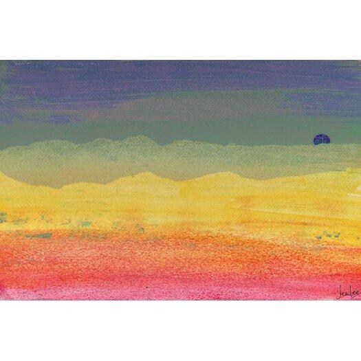 Desert Sun Painting Prints on Canvas