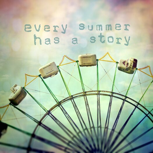 Every Summer Has a Story Painting Prints on Canvas