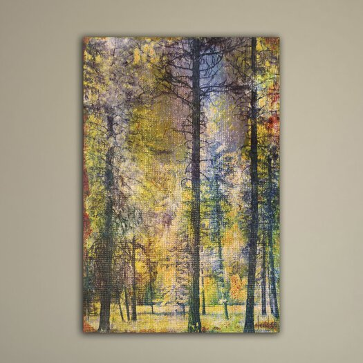 Walk in the Woods Painting Prints on Canvas