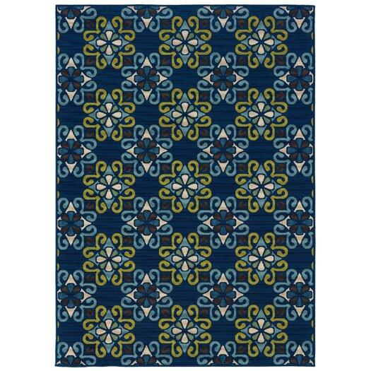 Oriental Weavers Caspian Blue/Green Indoor/Outdoor Rug