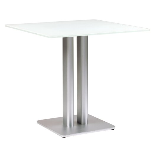 Sifas USA Oskar Square Glass Dining Table