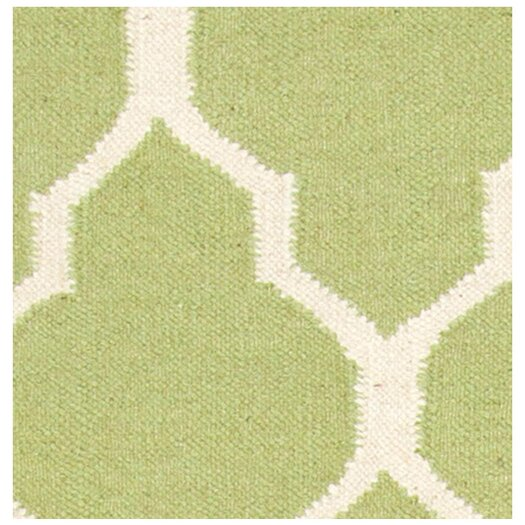 Rizzy Rugs Swing Light Green Lattice Rug