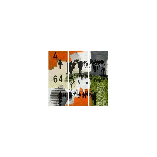 The Places I know 3 Piece Graphic Art on Canvas Set