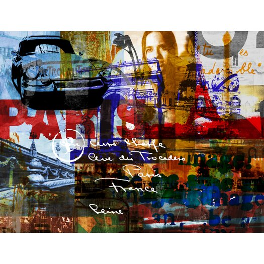 Paris Vibes 1 Art-for-You Graphic Art on Canvas