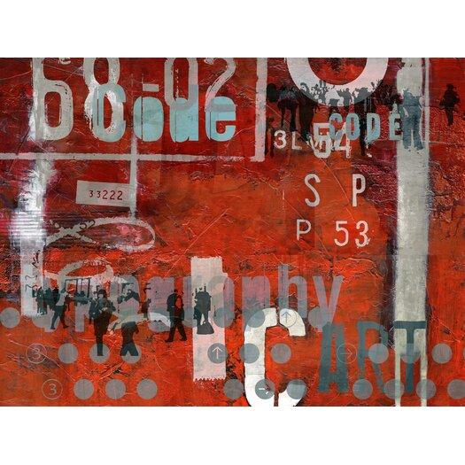 Typoart 18 Graphic Art Plaque