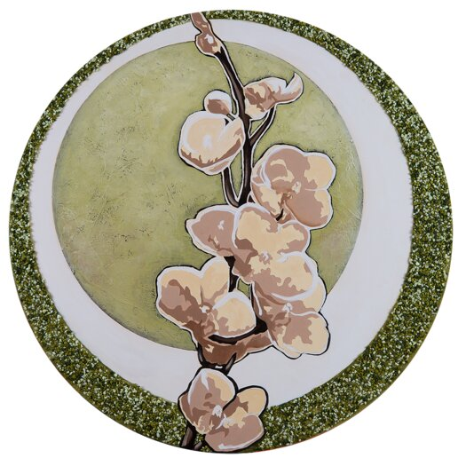 Spring Breeze Graphic Circular Art