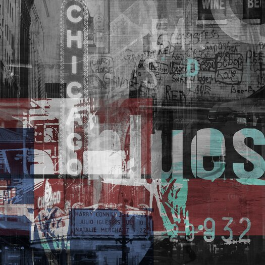 Chicago Style 1 Graphic Art on Canvas
