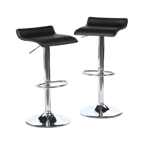 Zipcode Design Savannah Adjustable Height Backless Bar Stool