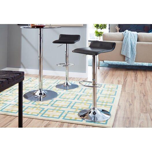 Zipcode Design Savannah Adjustable Height Backless Bar Stool