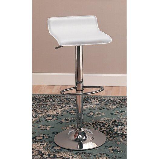 Wildon Home ® Colorado City Adjustable Height Bar Stool