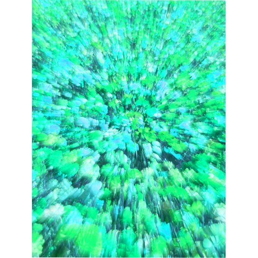 Field of Dreams Graphic Art in Blue