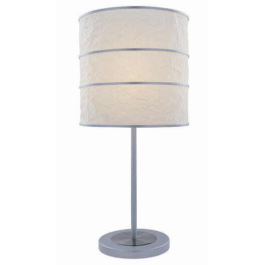"Lite Source Sadlar 25.5"" H Table Lamp with Drum Shade"