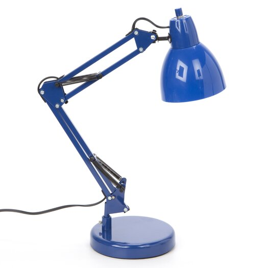"""Lite Source Karsten 21.25"""" H Table Lamp with Bowl Shade"""